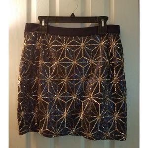 Forever 21 Sequin Skirt | Size 1x